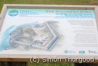 [Southern Fort sign at Bery head]