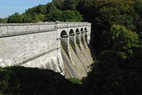 [View of the dam]